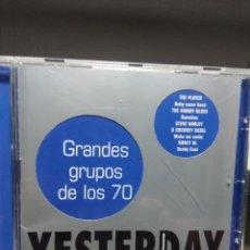 CDs de Música: CD YESTERDAY : GRANDES GRUPOS DE LOS 70 ( DEEP PURPLE FREE THE SWEET STYX ALLMAN BROTHERS STORIES. Lote 178568731
