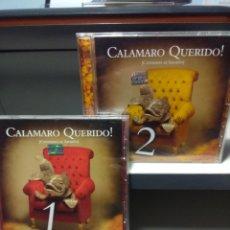 CDs de Música: CALAMARO QUERIDO! ( ANDRES CALAMARO) VOLUMEN 1 Y 2 , EDICION ARGENTINA. Lote 178570168