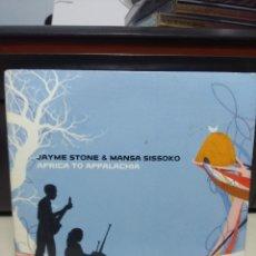CDs de Música: CD JAYME STONE & MANSA SISSOKO : AFRICA TO APPALACHIA ( EXCELENTE FOLK AFRICANO ). Lote 178574588