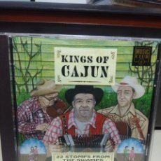CDs de Música: CD KINGS OF CAJUN (22 STOMPS FROM THE SWAMPS ( MUSICA CAJUN DE LOS PANTANOS ). Lote 178574790