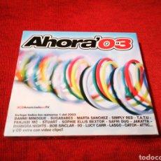 CDs de Música: AHORA 03 RECOPILATORIO 3 CD'S BLANCO Y NEGRO. Lote 178591275