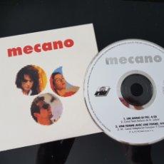 CDs de Música: MECANO. CD PROMOCIONAL. FRANCES E ITALIANO. BMG ARIOLA 1988. Lote 178592123