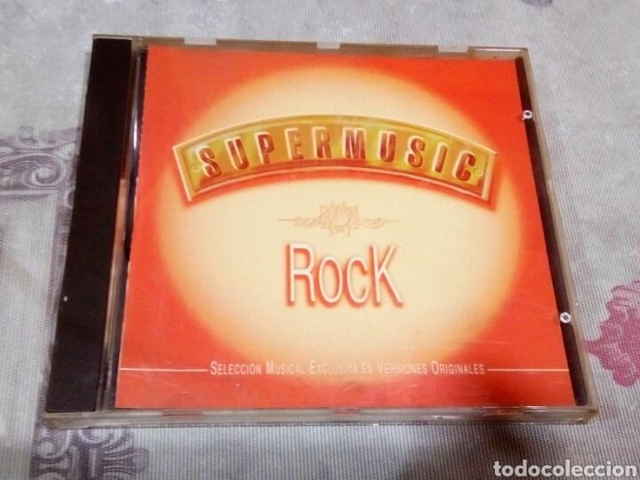 CD SÚPER MUSIC ROCK (Música - CD's Otros Estilos)