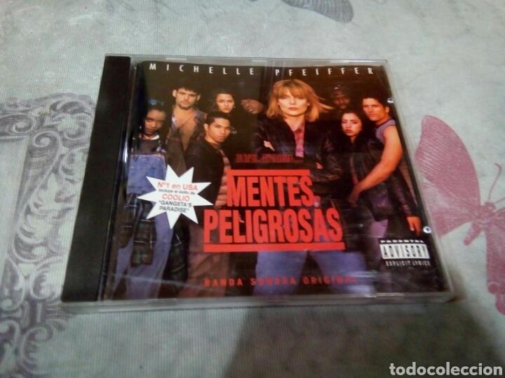 CD BANDA SONORA MENTES PELIGROSAS (Música - CD's Otros Estilos)