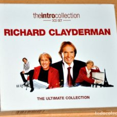 CDs de Música: 3 CD SET: RICHARD CLAYDERMAN - THE ULTIMATE COLLECTION - 60 TRACKS - UNION SQUARE MUSIC 2008. Lote 178614071