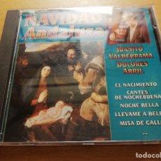CDs de Música: NAVIDAD ANDALUZA (JUANITO VALDERRAMA / DOLORES ABRIL) CD. Lote 178618472