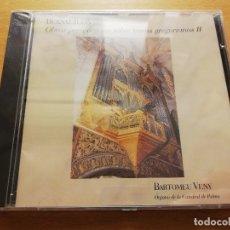 CDs de Música: BERNAT JULIÀ. OBRAS PARA ÓRGANO SOBRE TEMAS GREGORIANOS II (CD) BARTOMEU VENY. ÓRGANO CATEDRAL PALMA. Lote 178618691