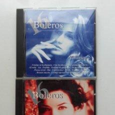 CDs de Música: 16 BOLEROS. VOLUMEN 1 Y 2 - CD. Lote 178622353