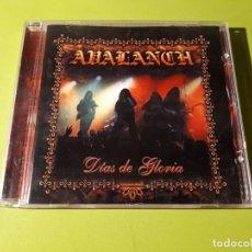 CDs de Música: AVALANCH - DÍAS DE GLORIA - 2000 - COMPRA MÍNIMA 3 EUROS. Lote 178628598