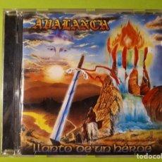 CDs de Música: AVALANCH - LLANTO DE UN HÉROE - 1999 - COMPRA MÍNIMA 3 EUROS. Lote 178629003