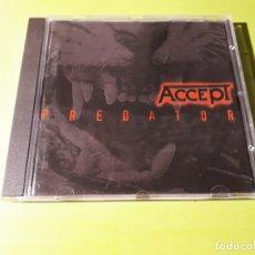 CDs de Música: ACCEPT - PREDATOR - 1996 - COMPRA MÍNIMA 3 EUROS. Lote 178629488