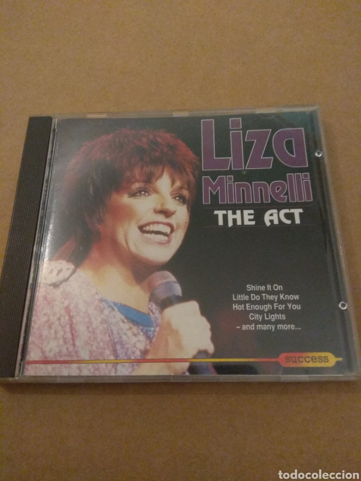 CDs de Música: LIZA MINELLI The Act CD 1993 - Foto 1 - 178630697