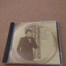 CDs de Música: LEONARD COHEN GREATEST HITS CD. Lote 178630728