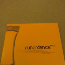 CDs de Música: RUN & DANCE VOL. 1 CD. Lote 178630786