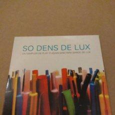 CDs de Música: SO DENS DE LUX CD. Lote 178630791