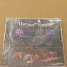 CDs de Música: VICIOUS RUMORS LIVE YOU TO DEATH CD PRECINTADO!!!. Lote 178630981
