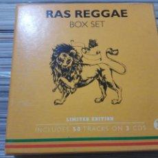 CDs de Música: 3 CD TROJAN BOX SET RAS REGGAE. Lote 178637787