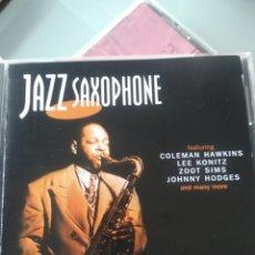 CDs de Música: VARIOUS – JAZZ SAXOPHONE. Lote 178645616
