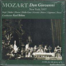 CDs de Música: MOZART: DON GIOVANNI. 3CDS. SIEPI, STEBER, CORENA. MET. BÖHM NUEVO. PRECINTADO. Lote 178651456