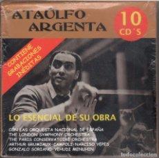CDs de Música: ATAÚLFO ARGENTA. LO ESENCIAL DE SU OBRA 10 CDS NUEVO. PRECINTADO. Lote 178652165
