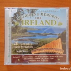 CDs de Música: CD MELODIES & MEMORIES FROM IRELAND - PAN PIPES COLLECTION (5L). Lote 178659431