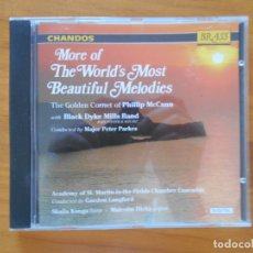 CDs de Música: CD MORE OF THE WORLD'S MOST BEAUTIFUL MELODIES - MCCANN - BLACK DYKE (5M). Lote 178660631