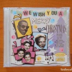 CDs de Música: CD WE WISH YOU A MERRY CHRISTMAS - BING CROSBY, THE WEAVERS, JACK JONES, BURL IVES... (5M). Lote 178660861