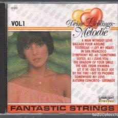 CDs de Música: DEINE LIEBLINGS MELODIE. FANTASTIC STRINGS. VOL. 1 RF-3114. Lote 178662571