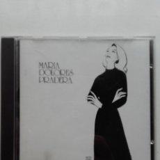 CDs de Música: MARÍA DOLORES PRADERA ACOMPAÑADA POR LOS GEMELOS - CD. Lote 178664937