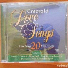 CDs de Música: CD EMERALD LOVE SONGS - 20 LOVE SONGS FROM IRELAND (5Ñ). Lote 178665955