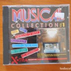 CDs de Música: CD THE MUSICAL COLLECTION VOL. 1 - CATS, HELLO DOLLY, EVITA, OKLAHOMA, LES MISERABLES... (5O). Lote 178666760