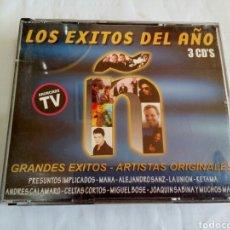 CDs de Música: CD LOS ÉXITOS DEL AÑO (3 CDS). Lote 178673113