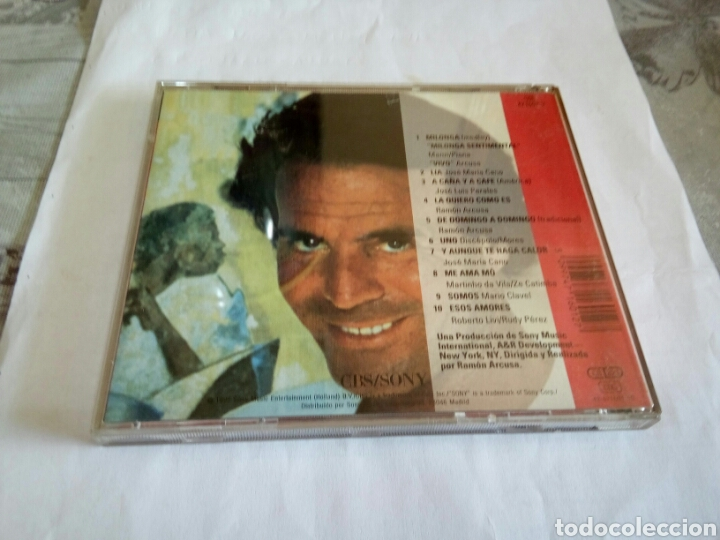CDs de Música: CD JULIO IGLESIAS - Foto 2 - 178673307