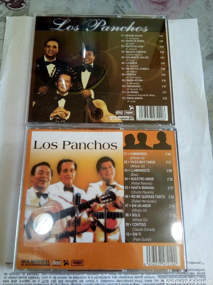 CDs de Música: CD DOBLE LOS PANCHOS - Foto 4 - 178673767