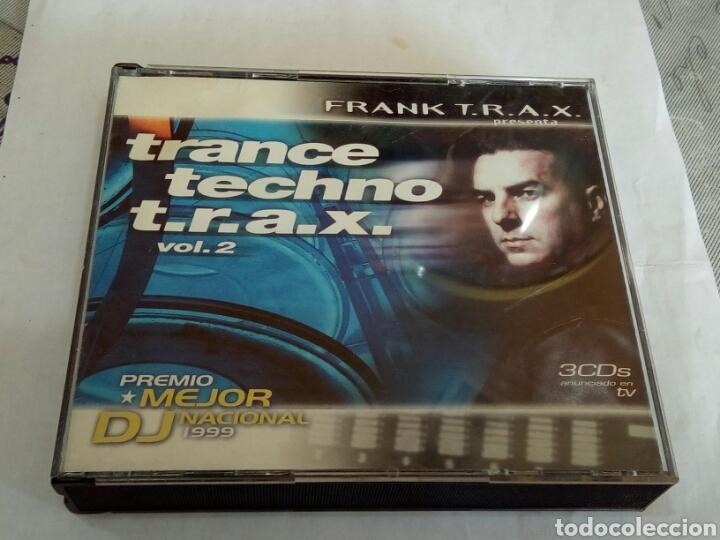CD TRANCE TECHNO T. R. A. X. (Música - CD's Techno)
