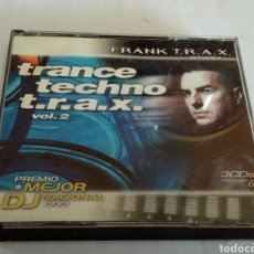 CDs de Música: CD TRANCE TECHNO T. R. A. X.. Lote 178674357