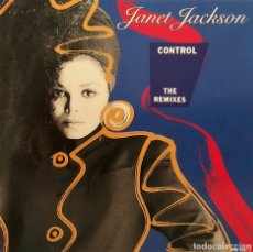 CDs de Música: CD JANET JACKSON - CONTROL, THE REMIXES. ALEMANIA 1987, (EX_EX). Lote 178674863
