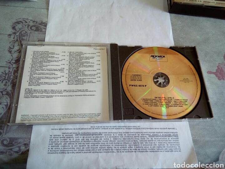CDs de Música: CD LEVEL 42 - Foto 3 - 178677216