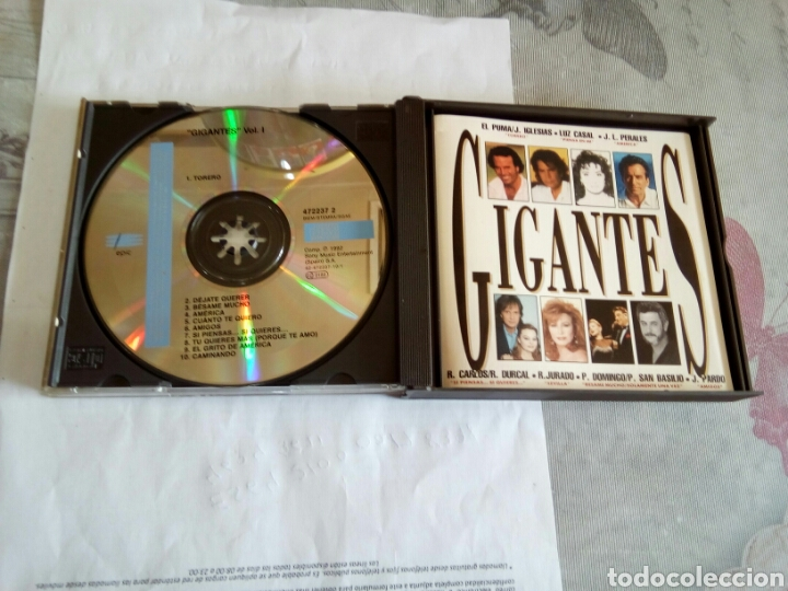 CDs de Música: CD DOBLE GIGANTES - Foto 3 - 178677828