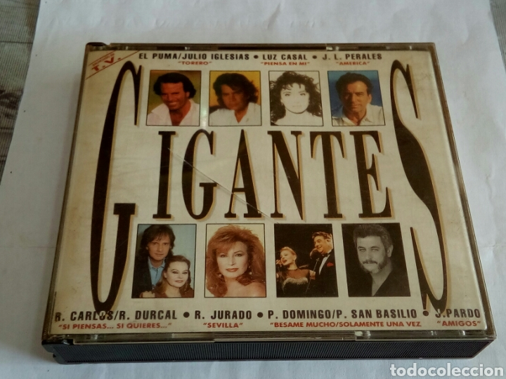 CDs de Música: CD DOBLE GIGANTES - Foto 1 - 178677828