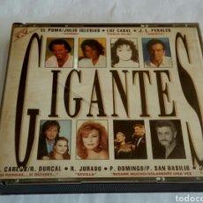 CDs de Música: CD DOBLE GIGANTES. Lote 178677828