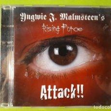 CDs de Música: YNGWIE MALMSTEEN - MALMSTEEN´S RISING FORCE - ATTACK!! - 2002 - COMPRA MÍNIMA 3 EUROS. Lote 178681542