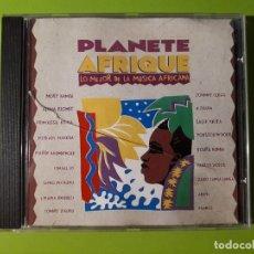 CDs de Música: PLANETE AFRIQUE - LO MEJOR DE LA MÚSICA AFRICANA - 1991 - COMPRA MÍNIMA 3 EUROS. Lote 178689131
