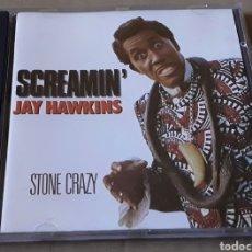 CDs de Música: CD - SCREAMIN' JAY HAWKINS - STONE CRAZY - MADE IN ENGLAND - JAY HAWKINS. Lote 178718590