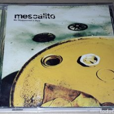 CDs de Música: CD - MESCALITO - WE DISAPPEARED IN STYLE - MADE IN ENGLAND - MESCALITO. Lote 178719072