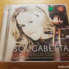 CDs de Música: SOL GABETTA. ELGAR CELLO CONCERTO (2 CD). Lote 178731881