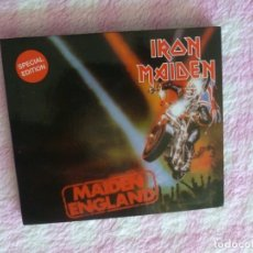 CDs de Música: IRON MAIDEN MAIDEN ENGLAND CD COLLECTORS. Lote 178735282