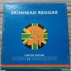 CDs de Música: 3 CD TROJAN BOX SET SKINHEAD REGGAE. Lote 178736213