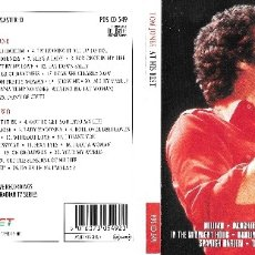 CDs de Música: TOM JONES - AT HIS BEST. Lote 178740116