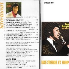 CDs de Música: ENGELBERT HUMPERDINCK - WE MADE IT HAPPEN / SWEETHEART. Lote 178740182